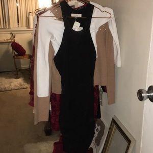 IRO body con dress with T back